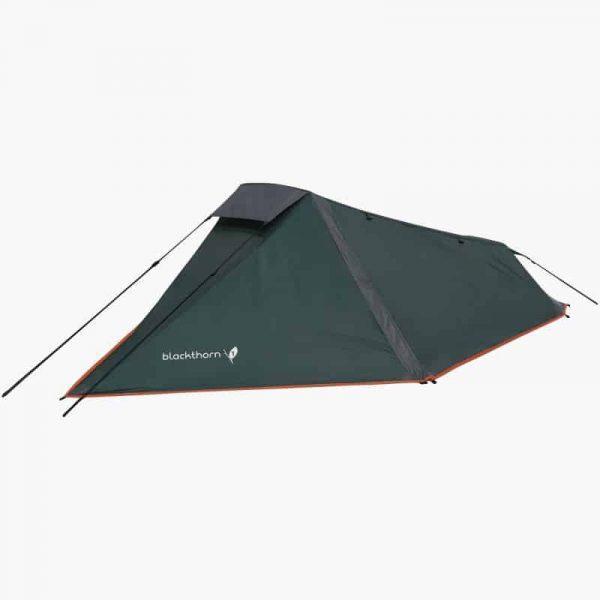 Highlander blackthorn 1 lightweight solo backpacking tent green