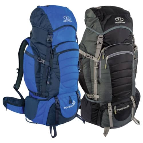 Highlander expedition 85 85l backpack (various colours)