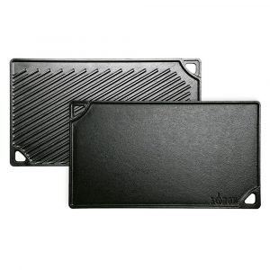 "Lodge Reversible Griddle 16.75"" X 9.5"" (42.55 X 24.13cm)"