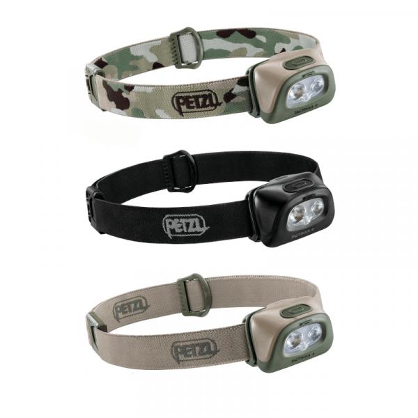 Petzl tactikka® + headlamp | torch | 350 lumens (various colours)