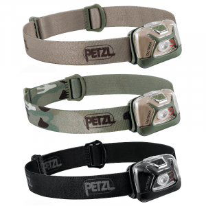 Petzl TACTIKKA® Headlamp | Torch | 300 Lumens (Various Colours)
