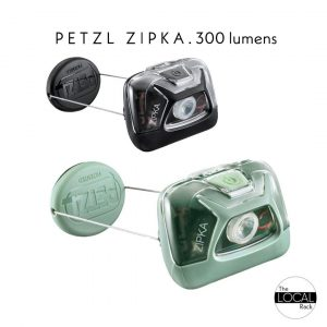 Petzl Zipka Headlamp | Torch Compact 300 Lumens (Various Colours)