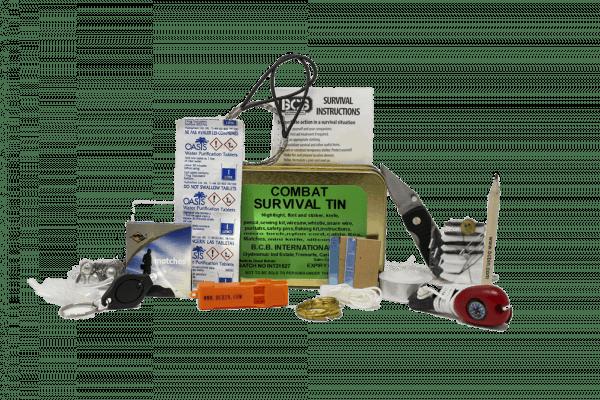 Bcb combat survival tin (non hazardous)