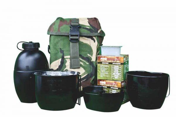 Bcb crusader cooking system i (6 piece set) (multicam pouch)