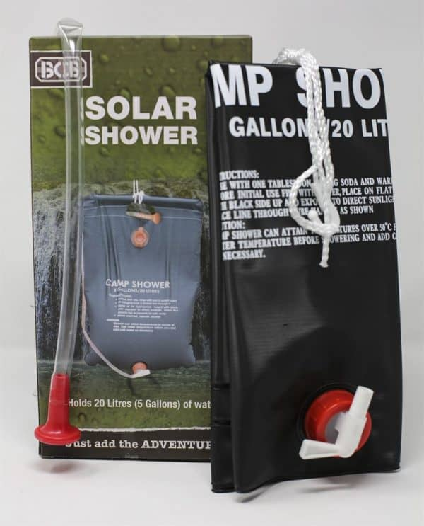 Bcb solar shower (20 litre)