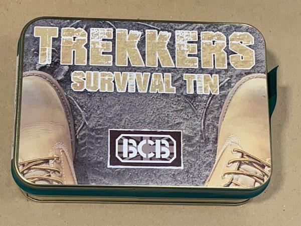 Bcb trekker survival tin