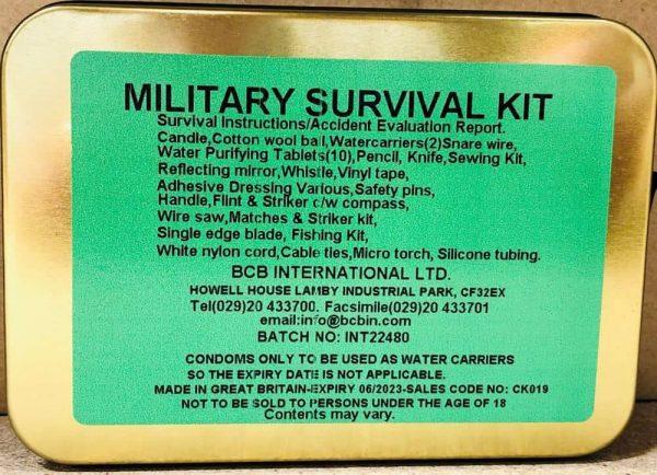 Bcb military survival kit
