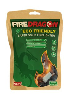 Fire dragon solid fuel blocks (6 pack)