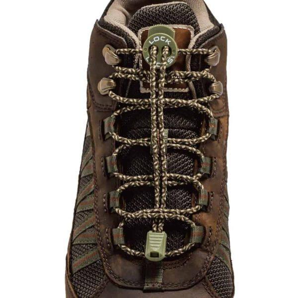 Lock laces - boot laces 72inch camo