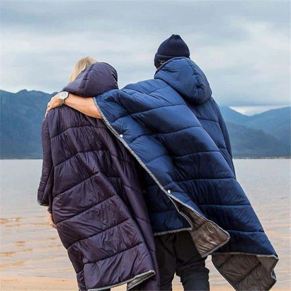 Naturehike outdoor camping cloak style cotton sleeping bag (various colours)