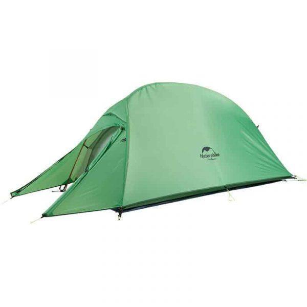 Naturehike outdoor camping cloudup tent 201t green with mat