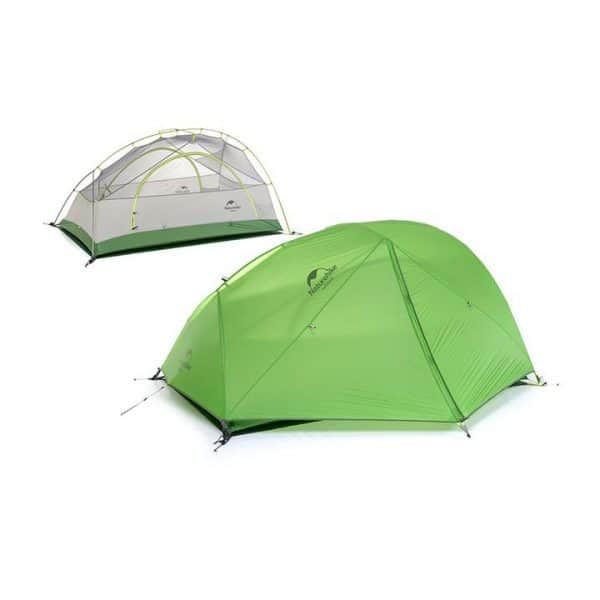 Naturehike star-river 2 lightweight 2 man tent with mat