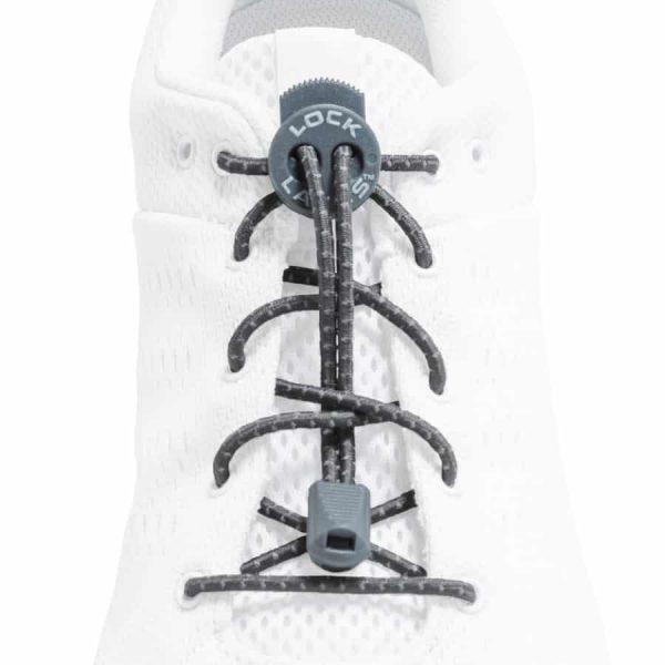 Lock laces grey