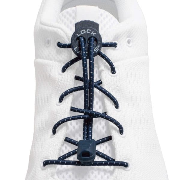 Lock laces navy