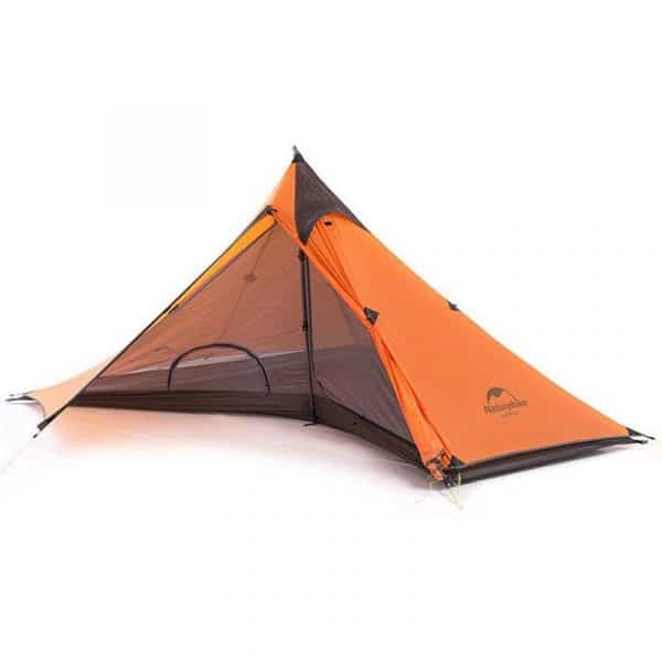 Naturehike spire hiking 1 person ultralight camping tent outer fly(orange)