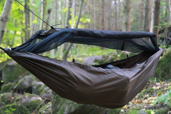 Dd travel hammock / bivi coyote brown