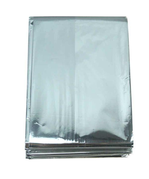 "Kombat uk emergency foil blanket 52"" x 84"""