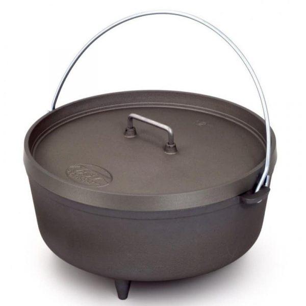 "Gsi dutch oven 12"" (cast aluminium)"