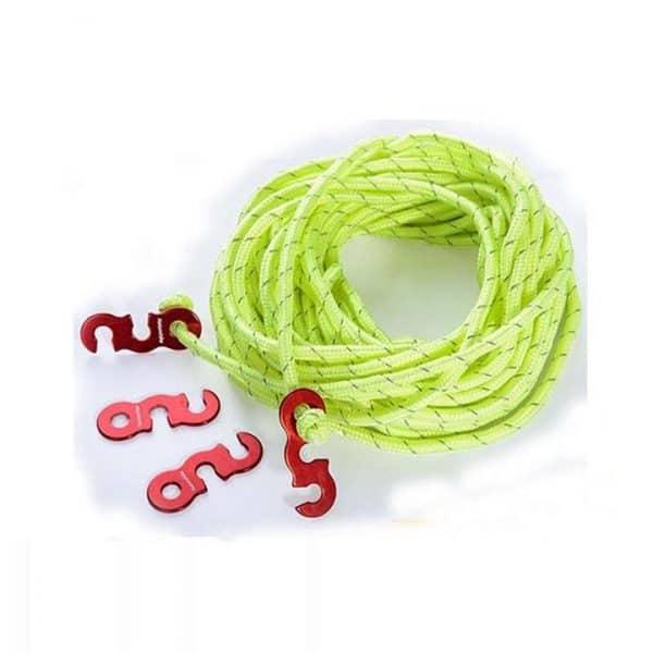 Naturehike 8mm guy ropes including buckles