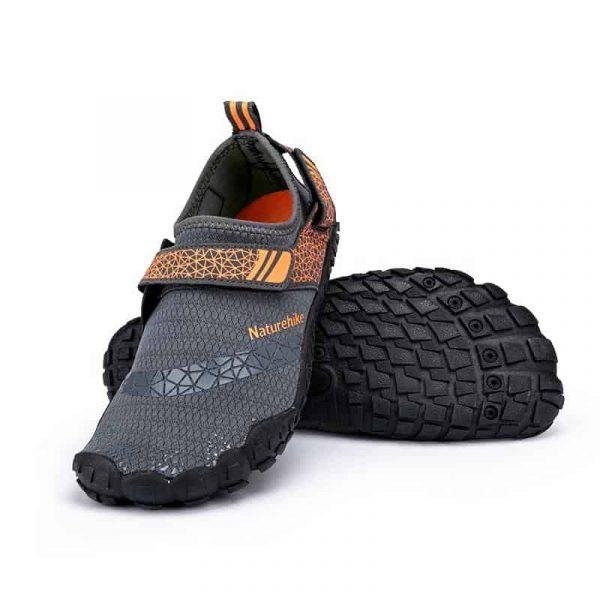 Naturehike outdoor wet shoes / beach shoes grey / orange