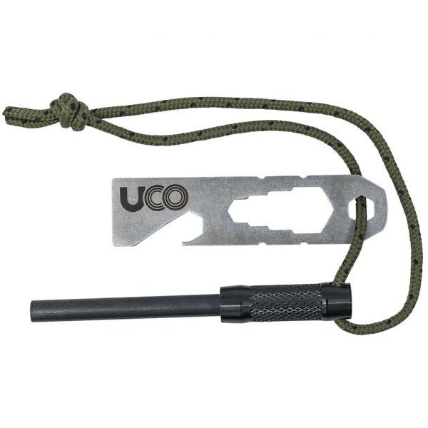 Uco survival fire starter black