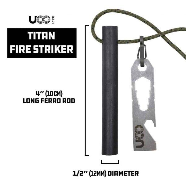 Uco titan fire striker ferro rod