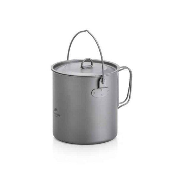 Naturehike titanium lightweight cookware titanium 1250ml