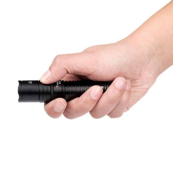 Trustfire e3r rechargeable edc flashlight
