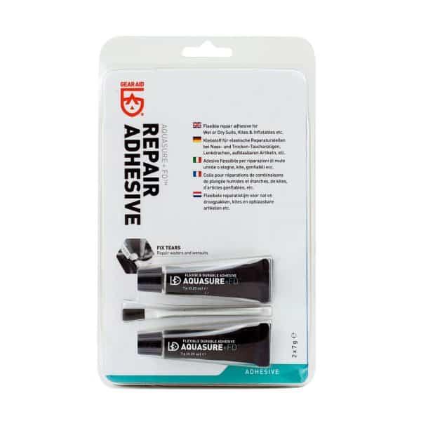 Gear air aquasure + fd flexible durable adhesive 2 x 7g tubes