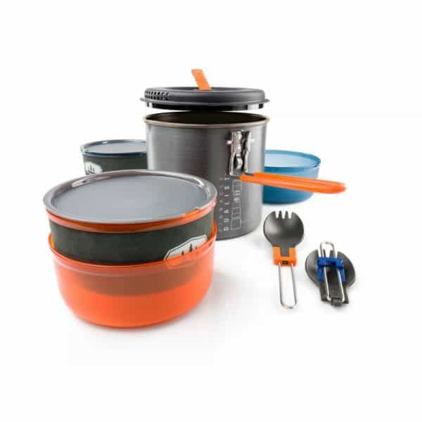 Gsi pinnacle dualist 2 person cook and eat set