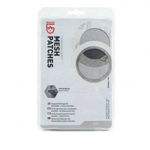 Gear Aid Tenacious Mesh Patches - 2 x 7.6cm Pre Cut Patches