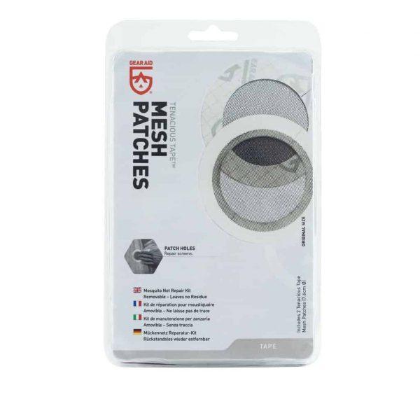 Gear aid tenacious mesh patches - 2 x 7. 6cm pre cut patches