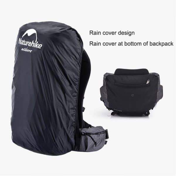Naturehike 60l+5l with rain cover backpack