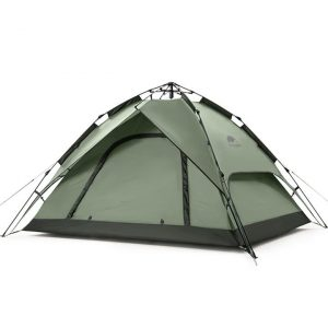 Naturehike Automatic 3 man quick pitch tent (Green)