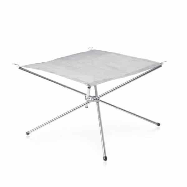 Naturehike camping stainless steel folding fire rack