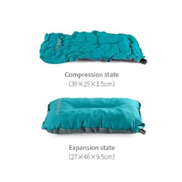 Naturehike outdoor travel sponge self inflating pillow