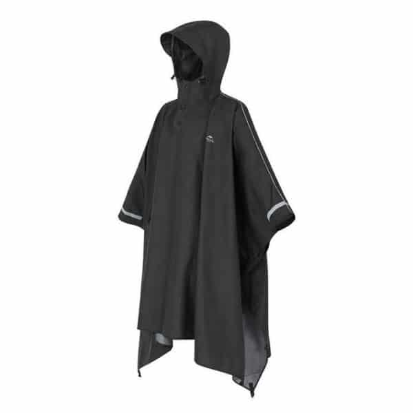 Naturehike waterproof breathable raincoat black