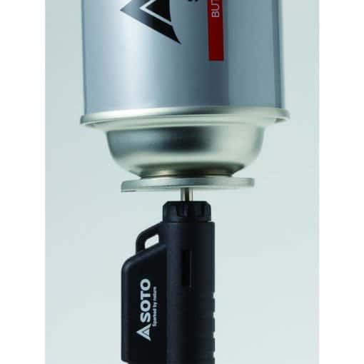 Soto micro torch horizontal black